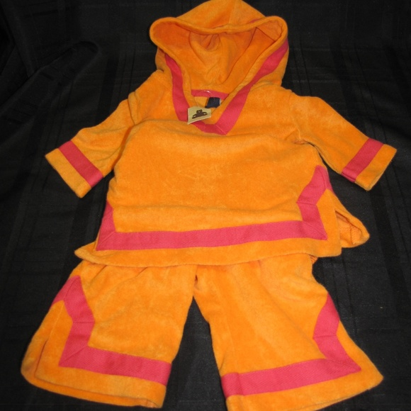 ff76963be0 Baby Gap 0-3 Girl Terry Swim Coverup 2 piece